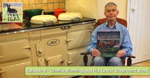 Charlie Blanning and His Lastest Greyhound Book